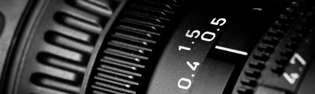 Television Camera Lens close-up