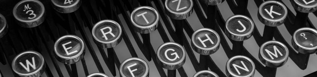 Tastatur Schreibmaschine