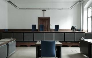 Landgericht Bamberg Sitzungssaal