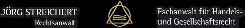 Rechtsanwalt Jörg Streichert Logo